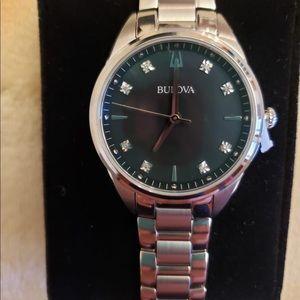 Brand New Bulova Sutton Diamond Women's Watch